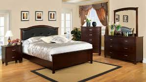 cm7599 import furniture of america traditional bedroom set brown