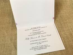 book tent fold invitations to have and to hold wedding