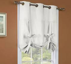 Tie Up Curtains Weathermate Insulated Grommet Tie Up Curtain Thermal Solid Color