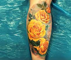 yellow rose tattoos google search tattoo pinterest yellow