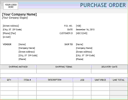 Po Template Excel 4 Excel Purchase Order Template Timeline Template