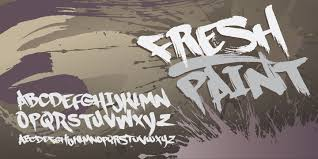 graffiti fonts myfonts