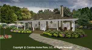 Carolina House Plans 3d Images For Chp Sg 947 Ams Small Country Guest Cottage 3d