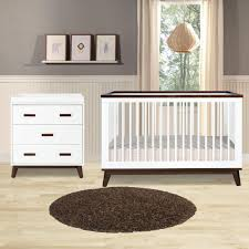 Babyletto Harlow 3 In 1 Convertible Crib Decor Stunning Nursery Furniture Decor Completed With Winsome