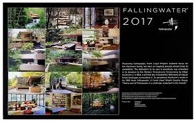 amazon com frank lloyd wright fallingwater 2017 wall calendar