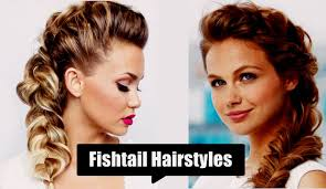 medium length hairstyles with braids fishtail ponytail hairstyles fishtail braid hairstyles for long