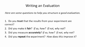 how to write a good thesis paper how to write a good evaluation ks3 science youtube