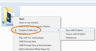 dropbox windows dropbox folder sync addon satyadeep k