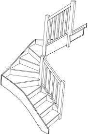 right hand double winder staircase fix right turn