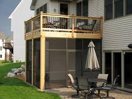 anoka mn below deck screen enclosure system id 050 patio