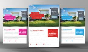 better real estate flyer template flyer templates creative market