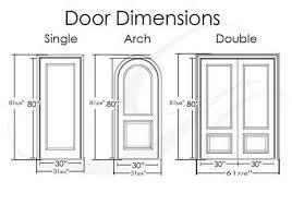 Standard Door Sizes Interior Fabulous Fantastic Standard Interior Door Height Standard Doors