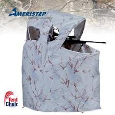 tent chair blind ameristep snow camo chair blind ll cote sports center