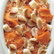 sweet potato coconut casserole