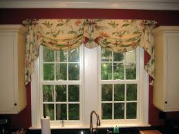 Curtains And Valances Sophisticated Kitchen Curtains Valances Drapes Pleated