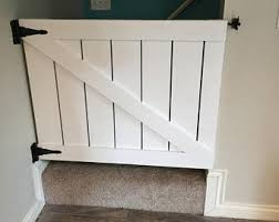 Baby Gate For Banister And Wall Baby Gate Etsy