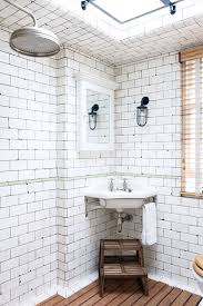 vintage bathroom tile ideas keith mcnally s notting hill bathroom industrial tile bathroom