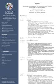 Resume Researcher Design Researcher Resume 28 Images Professional Interior