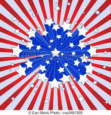 Starburst Design Clip Art Clipart Vector Of American Starburst Background An American