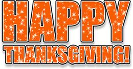 happy thanksgiving railbird corner