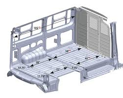 nissan cargo van interior vehicle dimensions