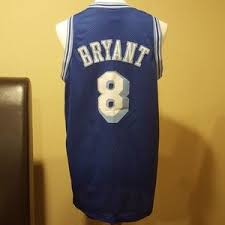 40 off nike tops blue kobe bryant 8 la lakers throwback jersey