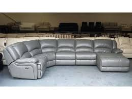 leather electric recliner chaise corner sofa dark grey leather electric recliner corner sofa chaise lounge buy