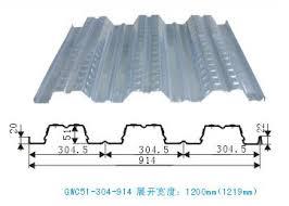 steel decking floor manufacturer from shanghai china sino metal roof