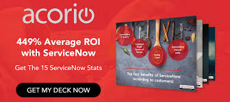 a service management strategy means servicenow here u0027s why acorio