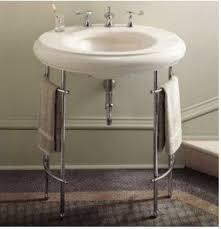Console Sinks Bathroom Kohler K 6860 Metal Table Legs Bathroom Vanities And Sink