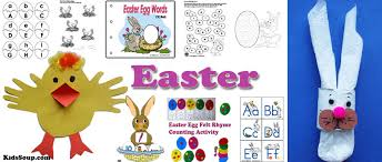 easter crafts activities games and printables kidssoup