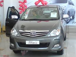toyota innova update got delivery of my toyota innova v 8 seater team bhp