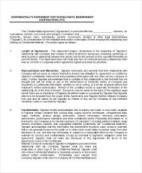 celebrity confidentiality agreement u2013 7 free word pdf documents
