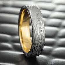 mens wedding ring men s damascus rings unique men s wedding bands steven jacob
