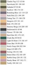 paint color names list the unofficial paper source color guide