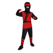 50 halloween costumes totally ghoul red ninja halloween costume