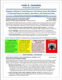 Sample Resume Objectives For Trades by Illustrated Resume Samples Cyber Security