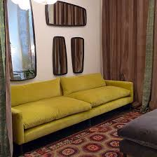 canapé caravane caravane mira furniture yellow sofa salons and