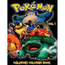 booktopia pokemon children u0027s coloring book vol 1 a4