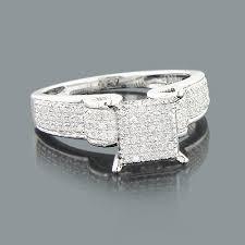 cheap wedding rings engagement rings diamond ring 0 42ct 10k gold
