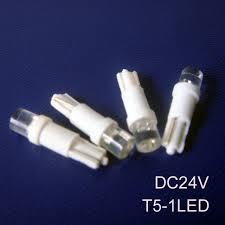 24vdc led indicator light high quality 24v t5 led pilot lights t5 24vdc led indicator lights