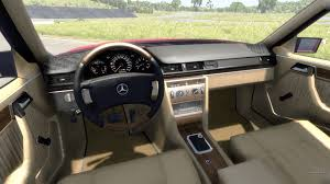 mercedes w 124 w124 for beamng drive