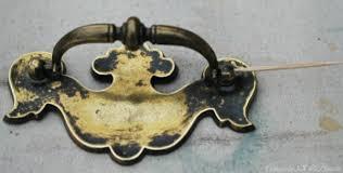 how to spray paint brass hardware amanda jane brown