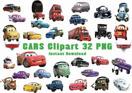 cars characters piston cup clip art 50
