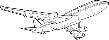 black and white airplane flying clipart the cliparts