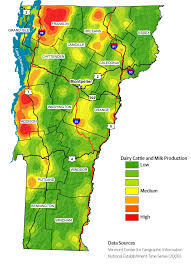 State Of Vermont Map by Dairy Food Production The Plan Vermont Farm To Plate