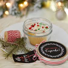 christmas cupcake in a jar 16 more diy gift ideas free