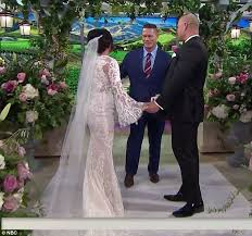 and black wedding cena is wedding officiant at s today nuptials daily