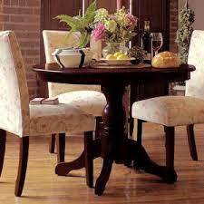 Espresso Pedestal Dining Table Carolina Classics Winslow Espresso Pedestal Dining Table 10260 Esp