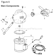 ridgid k 50 parts list and diagram ereplacementparts com